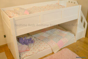 Dinky Staircase Bunk White Panels